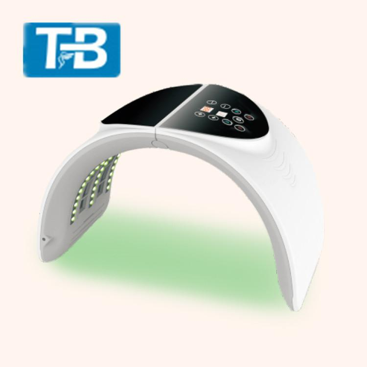 Foldable style Cheap price Alibaba Hot Sale 7 colors LED infrared Collagen PDT spa equipment for Wrinkle Remover and acne mark treatment