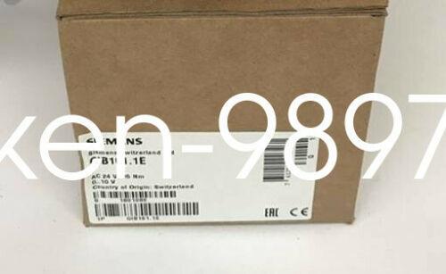 1PC NUEVO SIEMENS eléctrico Amortiguador actuador GIB161.1E CA24V 35Nm 0 ... 10 V