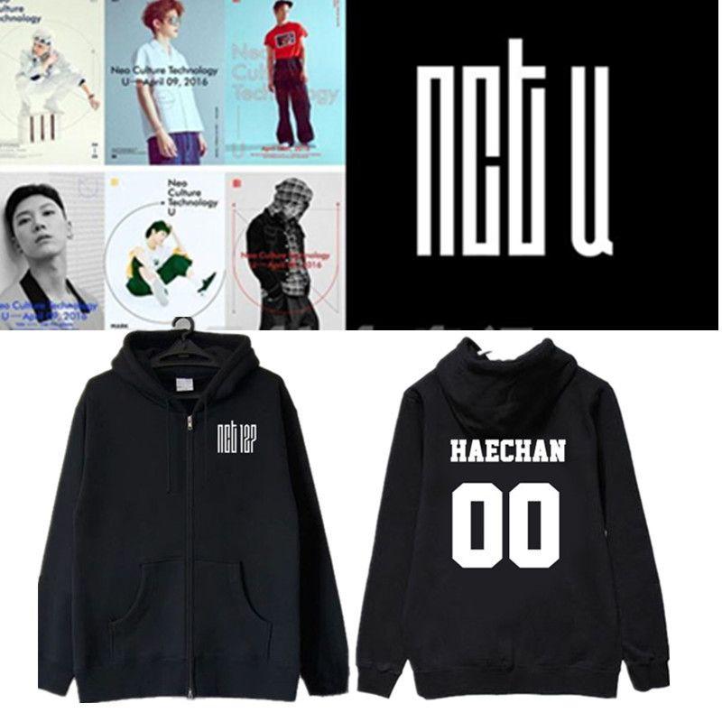 K- NCT U Wentai-Kim Dao Ying Zheng TEN Zaixian MARK stessa giacca cerniera