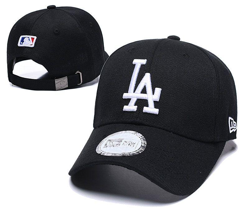 موضة جديدة قبعات البيسبول LA التطريز الهيب هوب العظام سنببك قبعات رجال نساء قابل للتعديل Gorras للجنسين كاب بالجملة