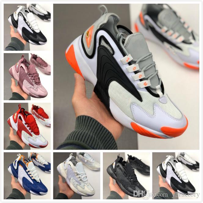 Новый 2020 Zoom 2K кроссовки мужские ZM 2000 мода белый бежевый спортивный дизайнер кроссовки Женские кроссовки для бега мужчины olddy обувь размер: 36-45
