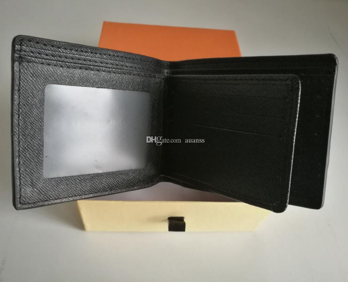 Designer Mens portefeuille célèbre hommes paires portefeuilles spéciales PU multiple multiple court petit portefeuille avec boîte, Portefeuille en paires France