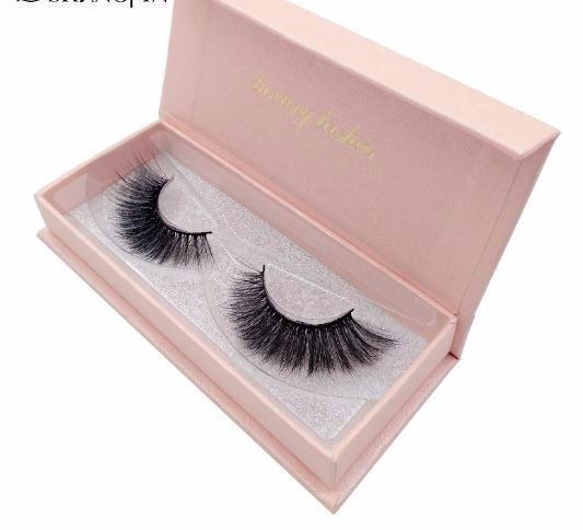 2019 Hand Made 3d Lashes 1 Pair Makeup False Eyelashes Natural Long Eyelashes 1 Box Eyelashes #6669