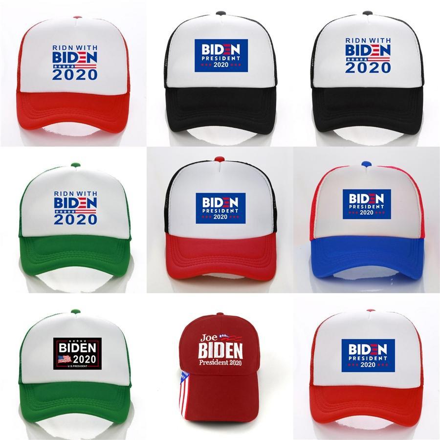 Biden Cap 2020 Flag Cap-americano Donald Biden Hat Fisherman Circular Bola Esporte Caps Viagem Praia Sun Golf Hats # 705
