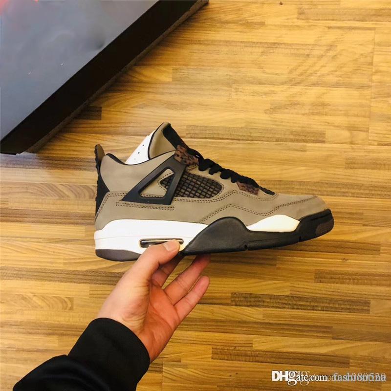 Release Travis Scott x Air Retroing 4 Houston Oilers Cactus Jack Männer 4S Basketball-Schuhe Lila Wildleder Turnschuhe mit Kasten 308497-406