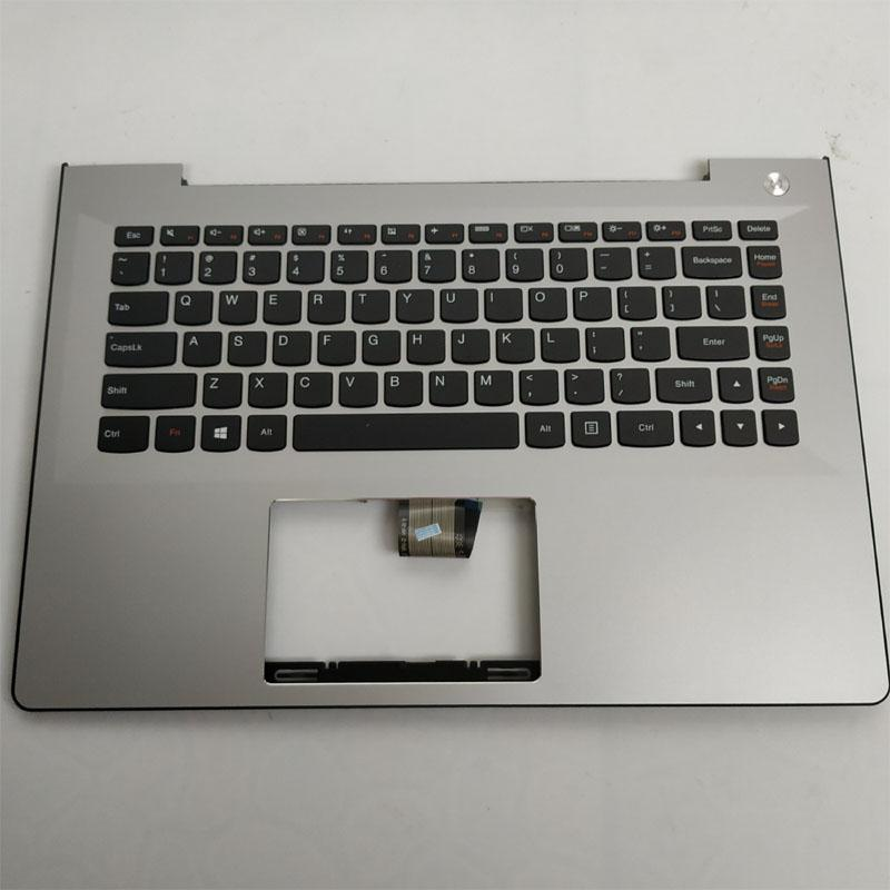 1PC Original New Laptop Shell Cover C Palmrest With Keyboard Without Backlight For Lenovo S41-70 S41-35 U41-70