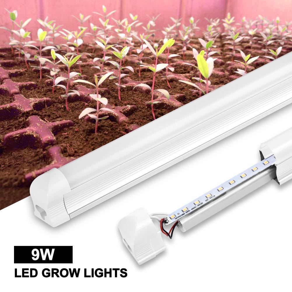60CM는 꽃 수경 온실 성장 텐트를 성장 실내 식물의 경우 전체 스펙트럼 프로스트 2 개 팩 성장 램프 바 빛 튜브를 성장