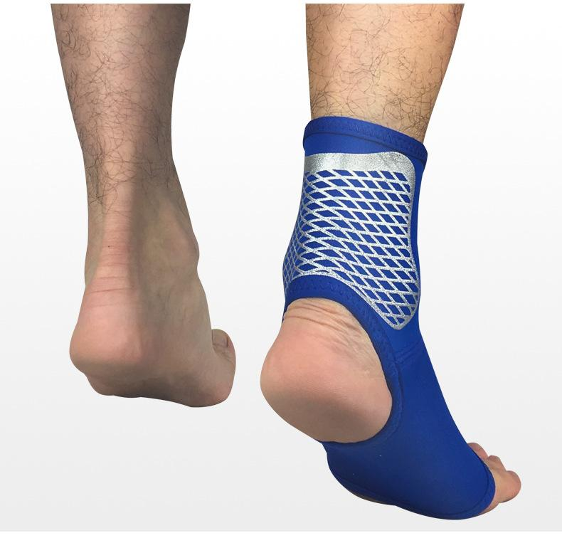 Hottest Sport Stocking 1PCS Breathable Ankle Support Adjustable Sports Elastic Ankle Support Brace Pad Foot Protection Football Basketball