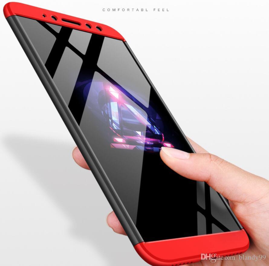 Shield Luxury 360 Cover completa proteggi custodia rigida Per Xiaomi redmi note 7 6 pro 9 8 SE 6X A2 lite play