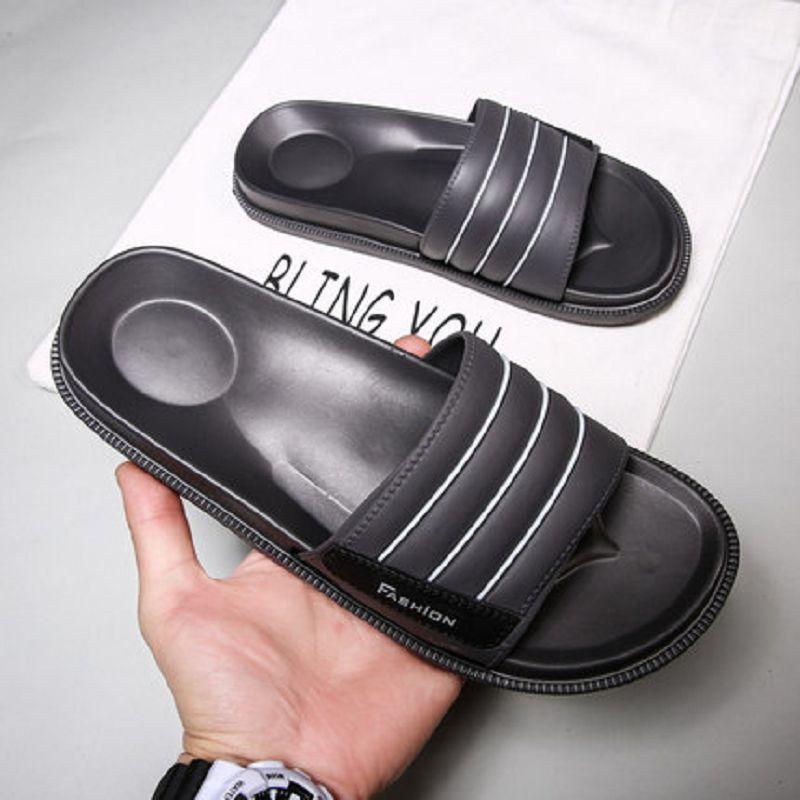 misure uomo Grandi pantofole estate della banda uomo pantofola esterno maschio sandalo sandali tacchi grosso con suola morbida antiscivolo zy744