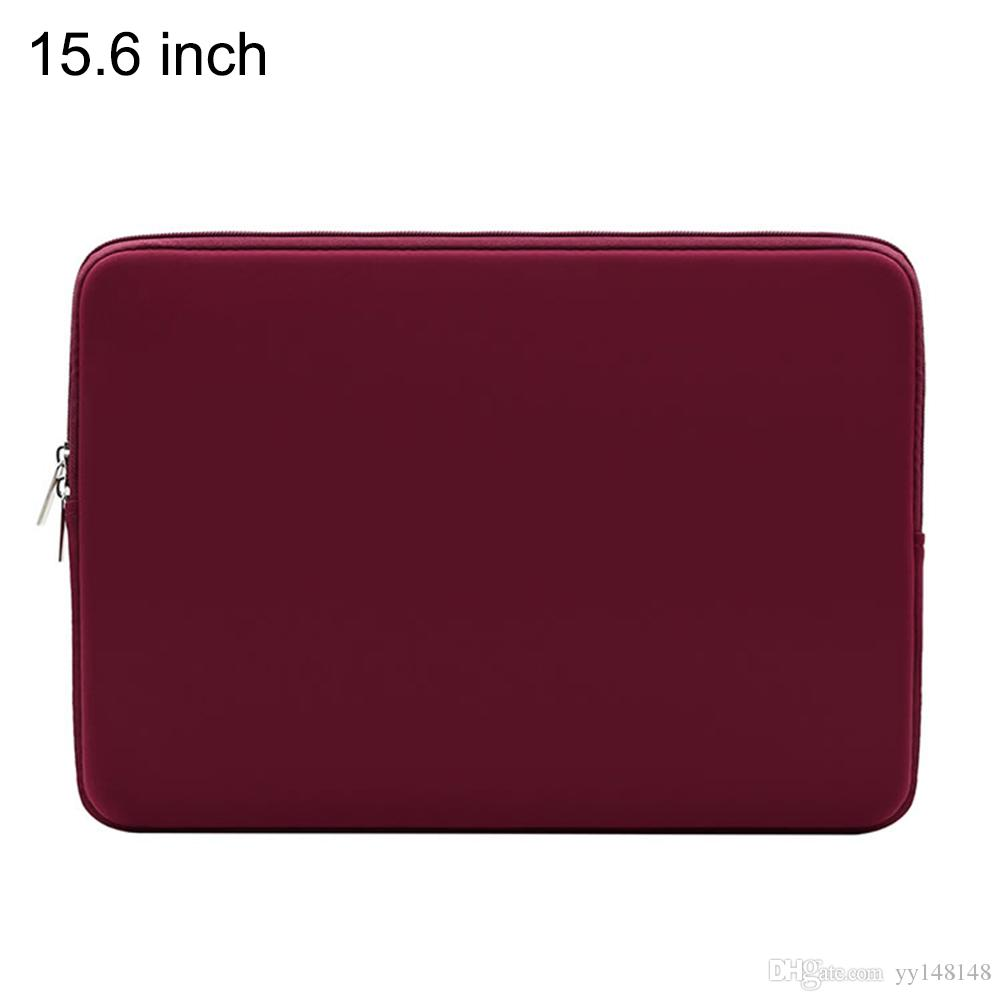 Laptop Sleeve Soft Zipper Pouch 11 12 13 14 15 15.6 inch Bag Case Cover for MacBook Air Pro Ultrabook Notebook Tablet