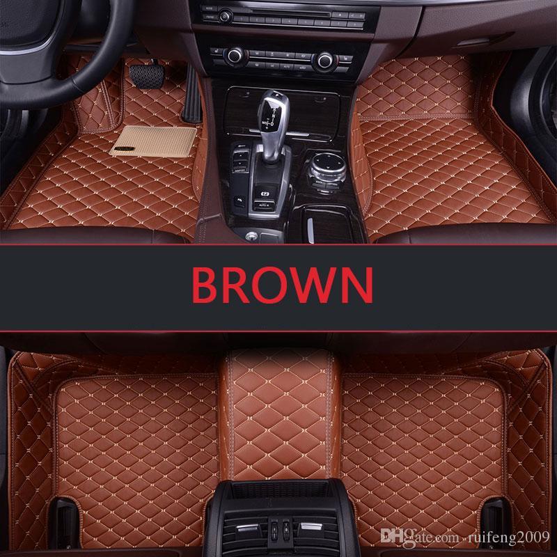 Tapis de sol sur mesure pour voiture Ford Mondeo Focus tapis Taurus Fiesta Edge Explorer tapis Taurus S-MAX F-150 Mustang
