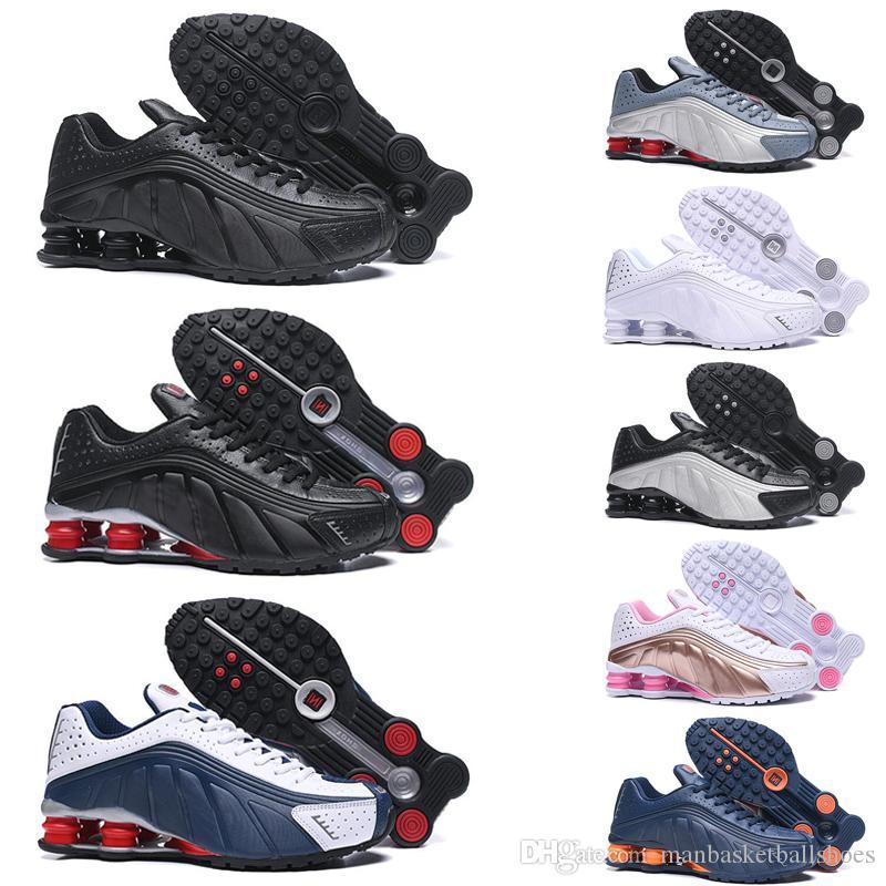 Scarpe da corsa per uomo Donna Triple bianco nero Oro Rosso Scarpe da ginnastica da uomo Fashion Tennis Sneakers sportive taglia 36-46