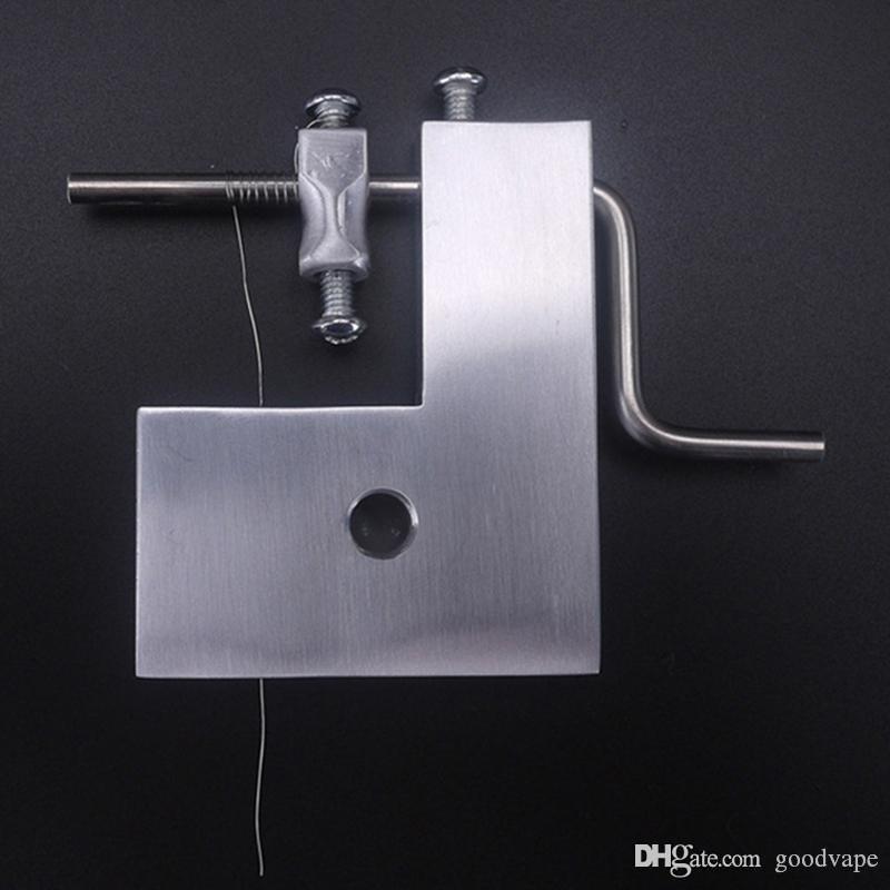 Máquina de enrolamento manual diy firmemente ferida bobinas de fio de febre 5em1 atomizador base de alta qualidade gabarito da bobina para atomizador vapor atomizador rta rdta rta