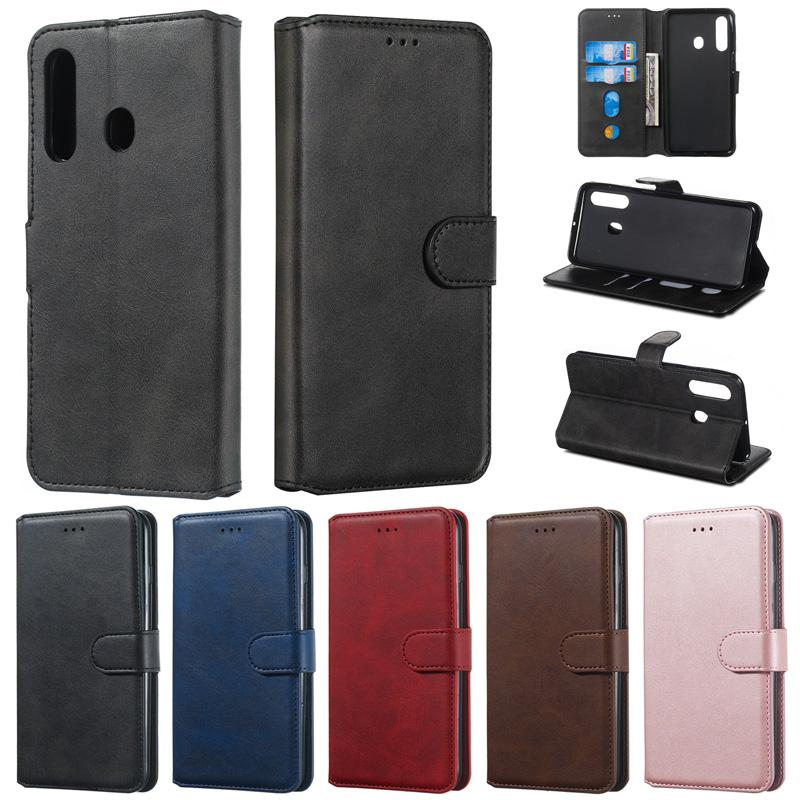 Retro Flip Wallet PU leather Case TPU Cover For Samsung J4 J6 Plus J3 Pro J5 Prime J7 J8 A7 2018 A2 Core M20 M30 M40 A40 A60 A80 A10E A20E