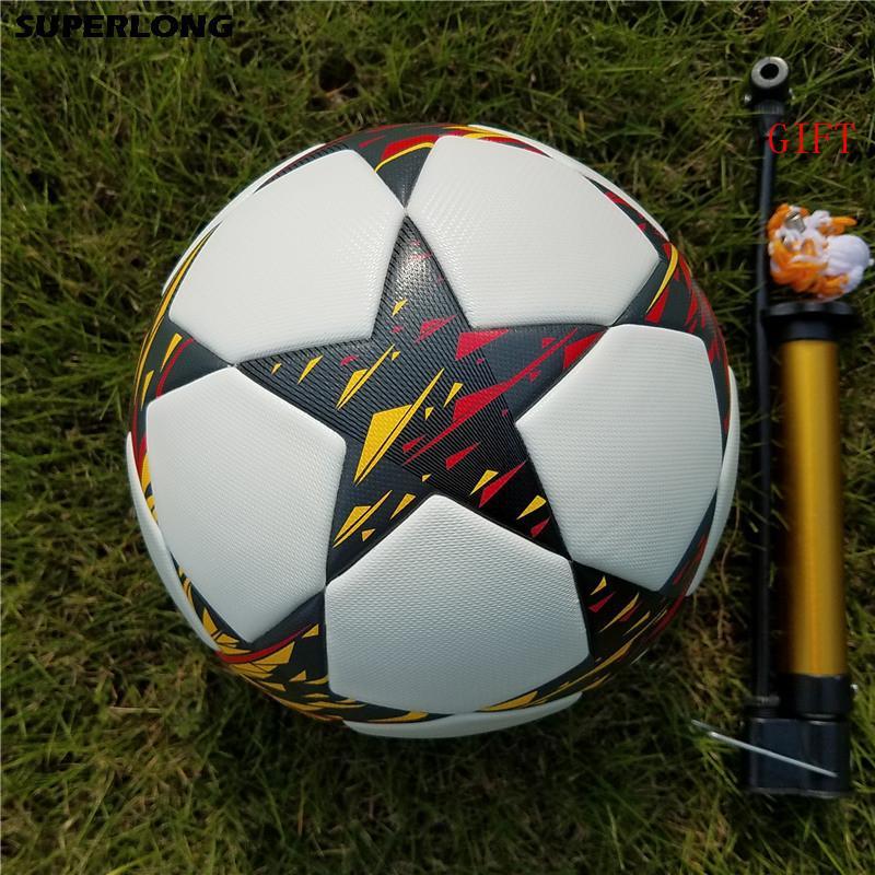 جديد دوري أبطال أوروبا الرسمية الحجم 5 كرة القدم الكرة مباراة تدريبية تدريب كرة القدم الكرة المضادة للانزلاق الكرة بو سلس كرة القدم