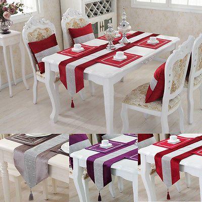 Атласный стол Бегун скатерть крышка стола для банкета свадебные украшения партии
