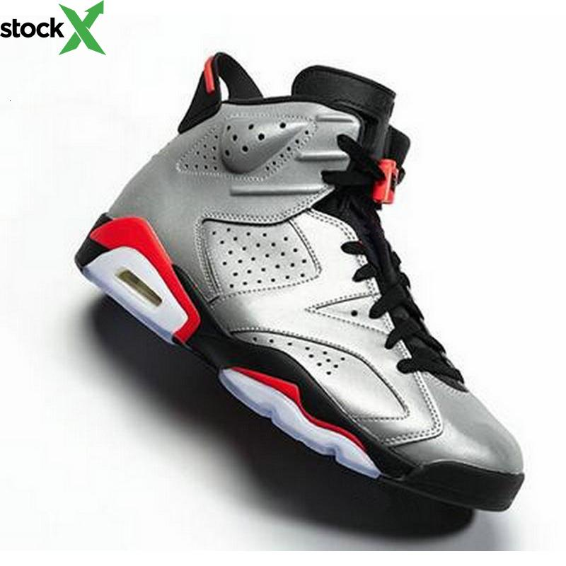 2020 JSP 6 Bugs Reflective lapin hommes Jordon basket-ball Chaussures 3M 6s réfléchissantes argent retre Retres Reflect Carmine Gatorade Sport infrarouge