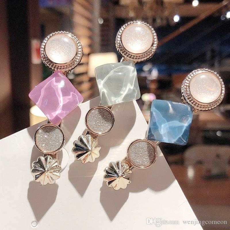 Korea Fashion Crystal Hairpins Girl Hair Clip Pin Barrette Accessories For Women Hair Clamp Ornament Hairgrip Headdress Headwear