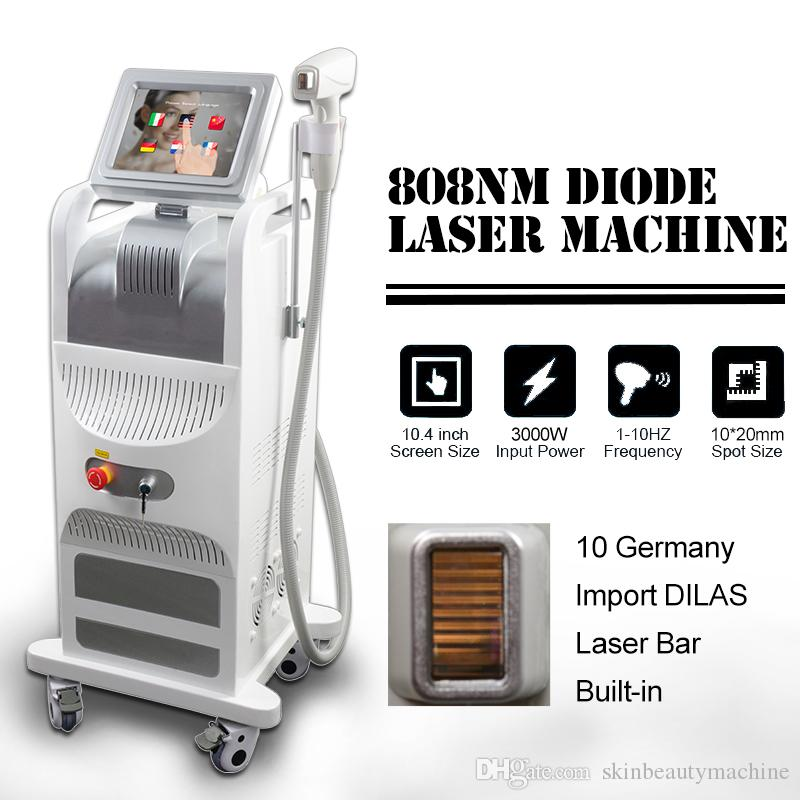 Machine lisse laser à diode 808nm laser épilation du visage épilation permanente pro showliss flash de lumière