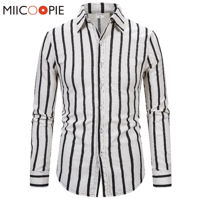 Vertical Striped Men Shirt Clothing Social Short Sleeve Summer Formal Fashions Shirts Mens Dress