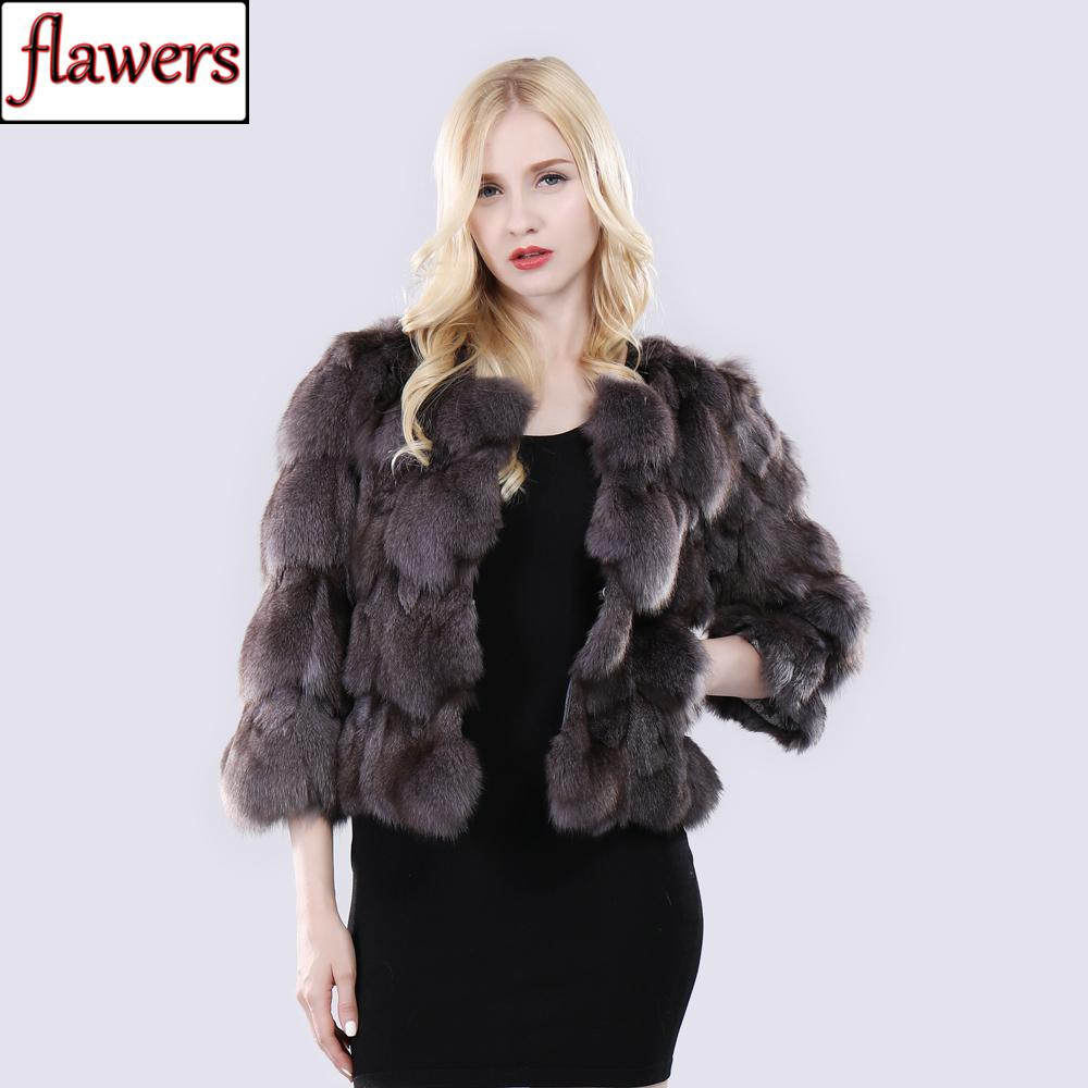 2019 New Women Winter Natural Real  Fur Coat 100% Genuine Warm Short Style  Fur Jacket Lady Fashion Real Outerwear