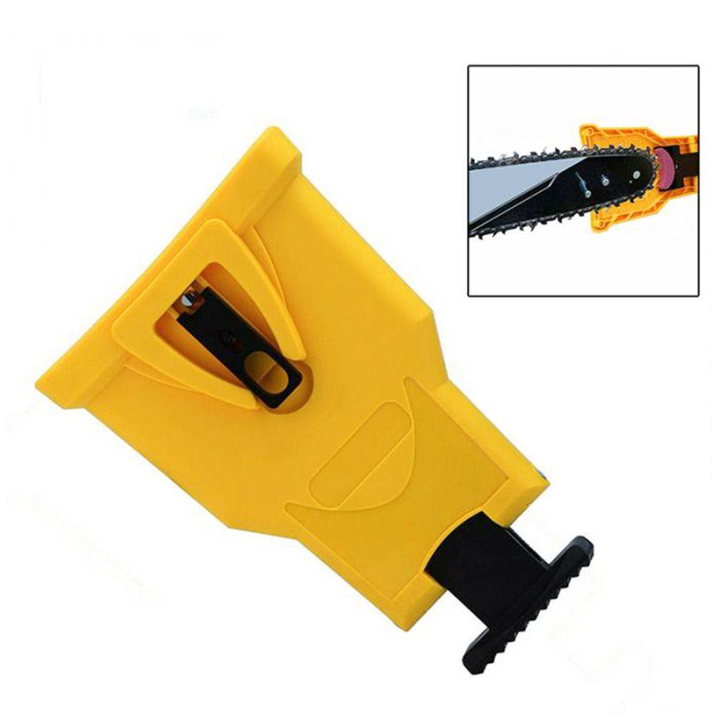 Aiguiseur de dents pour tronçonneuse Montage sur barre Meulage rapide Travail du bois Scie à chaîne électrique Affûtage de chaîne Accessoires pour outils électriques