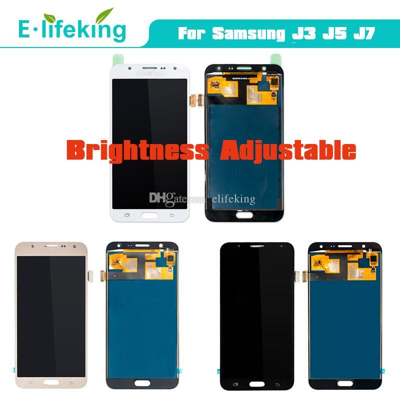 Samsung Galaxy için J3 J5 J7 2015 LCD Ekran Dokunmatik Ekran Için Samsung J320 J500 J700 LCD Meclisi Değiştirme En Kaliteli