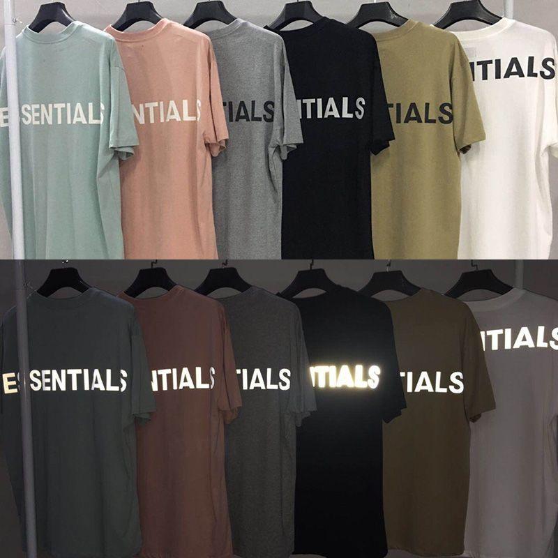3M Reflective Beverible TEE высочайшее качество повседневные хлопковые футболки для мужчин Женщины Летние топы хип-хоп Skateboard Streetwear