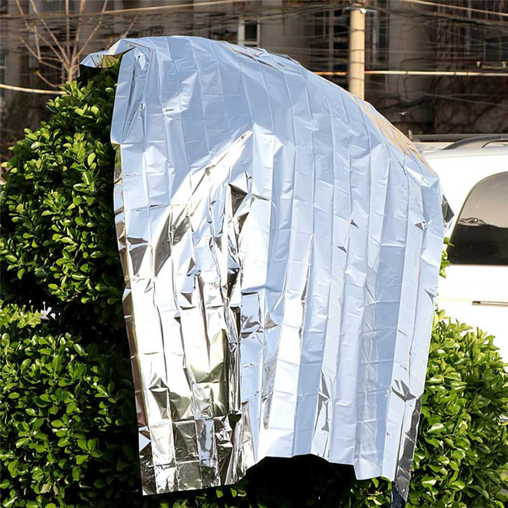 Reflective Film Plants Garden Greenhouse Covering Foil Sheets Foldable Waterproof Heat Reflective Mylar Film Thermal 210cm 1pc