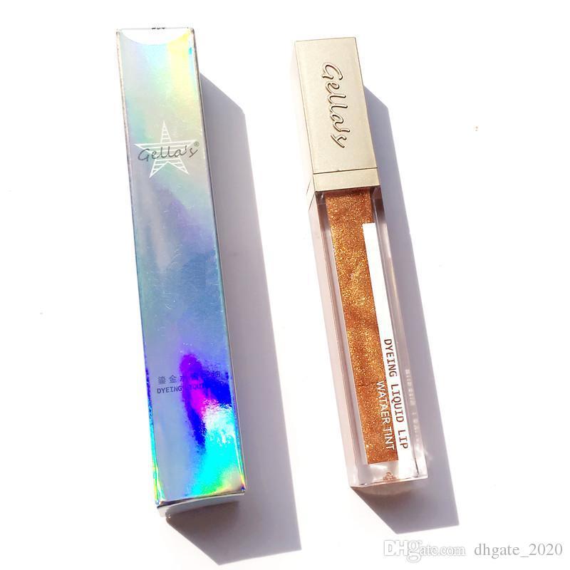 دروبشيبينغ الأكثر شعبية كاندي اللون بريق الشفاه ماكياج دائم الترطيب المغذي الشفاه الصقيل مرآة الزجاج بريق الشفاه تغيير لون السائل.