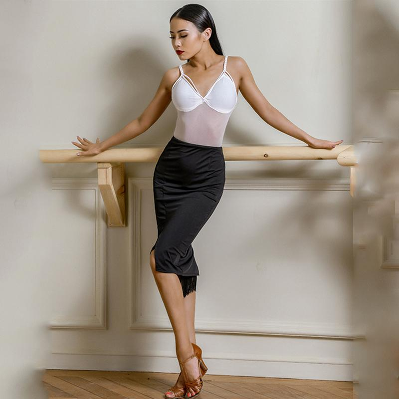 Latin Dance Skirt For Female Adults Latin Practice Performance Dancing Costumes Salsa Dress Women Competition Dresses SL2160