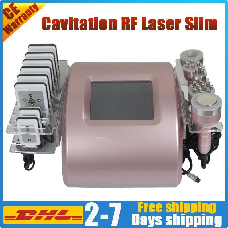 Кавитационный липолязер потерю жира ультразвуковой RF вакуумная кожа затягивает жирное отверстие для дробеструйной части тела, выброс целлюлита Удаление радиочастоты радиочастота