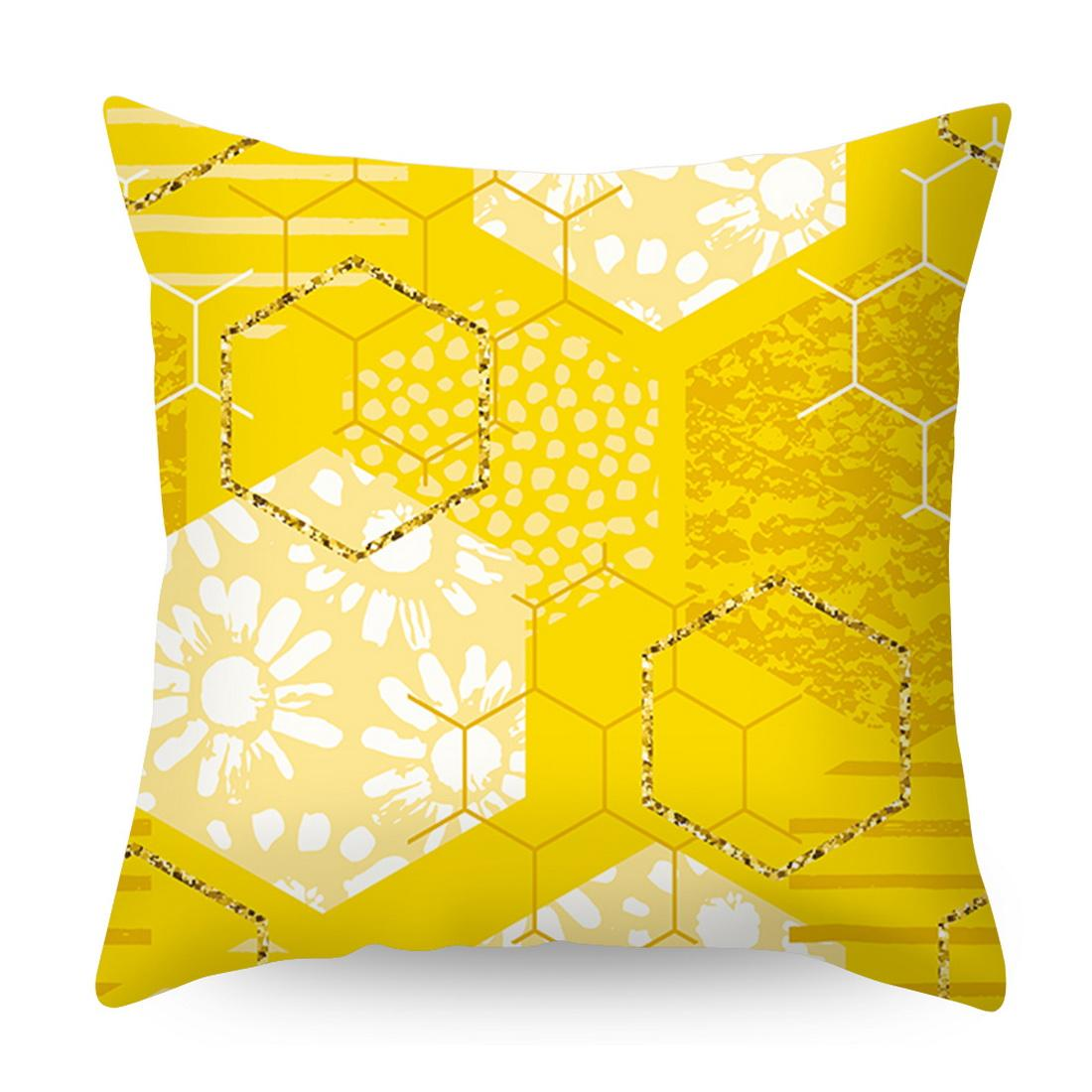 Decorative Pillow Cushion Covers Pillowcase Cushions for Sofa Polyester Pillowcover cuscini decoratin