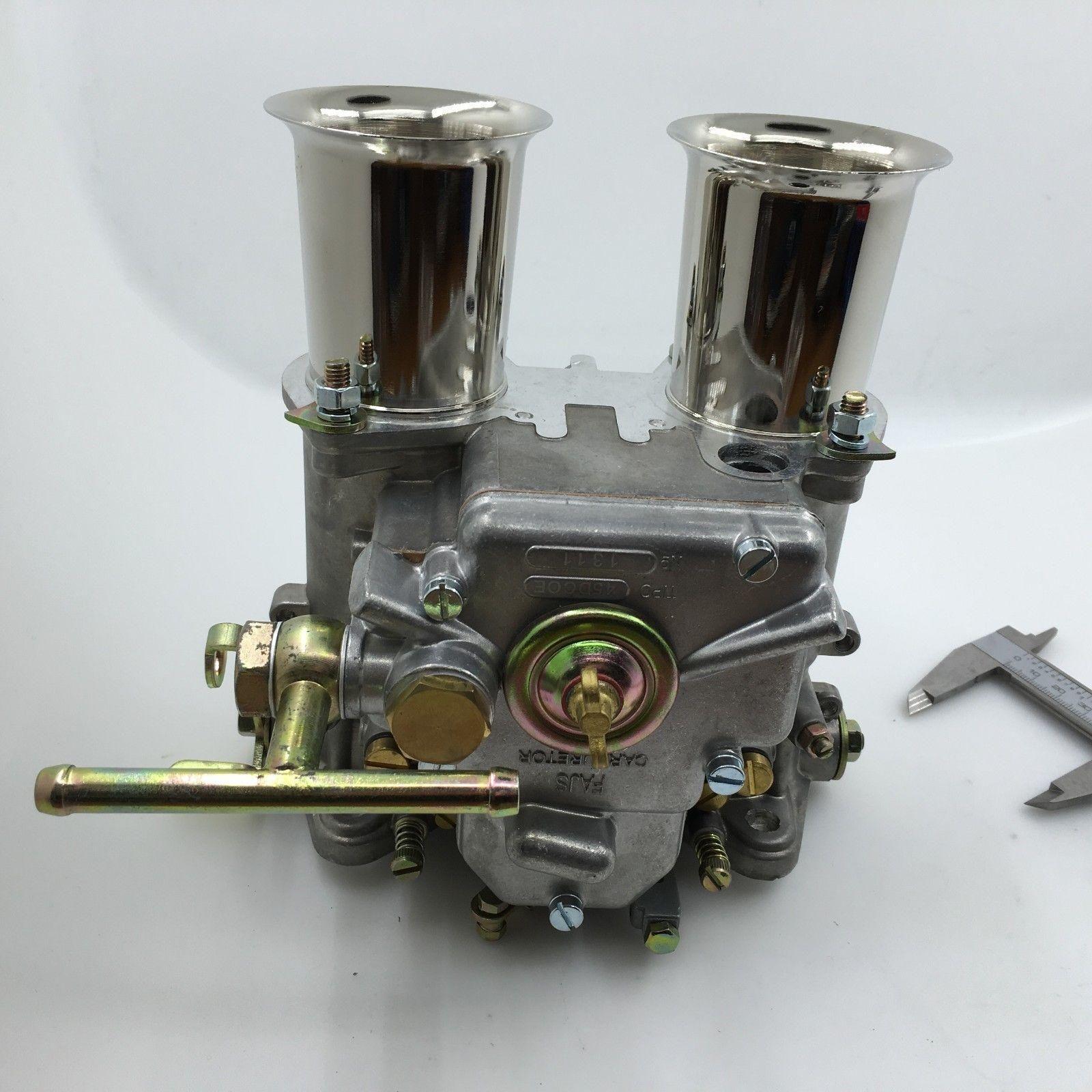 45dcoe Carburetor Carb W Air Horn 45 Dcoe Replacement For Weber Solex Dellorto