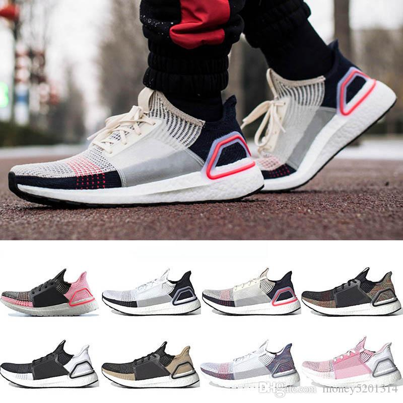 Avec Ultra Box Hommes Femmes Bost Chaussures de course Ultrabost laser rouge foncé Pixel noyau noir Ultra 5.0 Entraîneur Sport Bost Sneaker