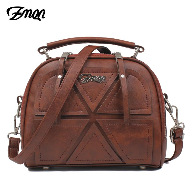 ZMQN Women Messenger Bags Famous Brand 2019 Vintage Women Crossbody Bags For Women Small PU Leather Handbags Bolsa Feminina A523 T200102