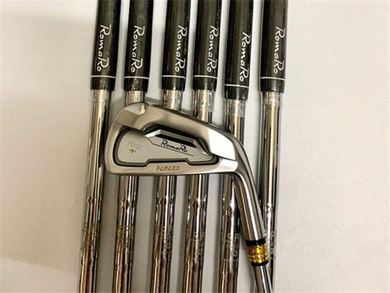 7PCS Romaro Ray-V Set da stiro Romaro Ray Golf Forged Irons Romaro Golf Club 4-9P Pozzo d'acciaio Copertura Testa Con