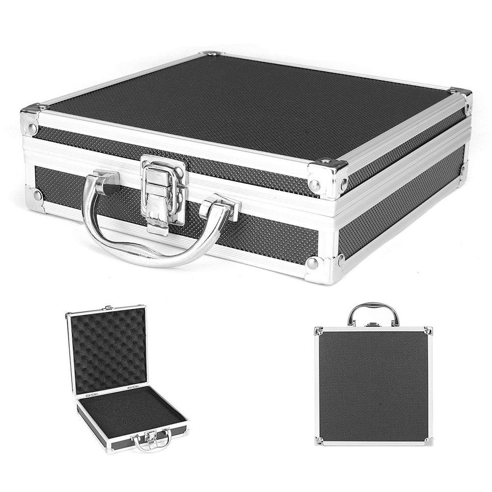 دائم الإسفنج داخل المحمولة قوي منظم الصلب حمل العملي تخزين سبائك الألومنيوم أداة صندوق سفر حقيبة حمل