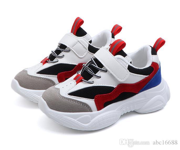 Zapatillas Deportivas para ni/ños Zapatillas Deportivas Transpirables de Moda Zapatillas Escolares para ni/ños Zapatillas de Baloncesto de Primavera para ni/ños