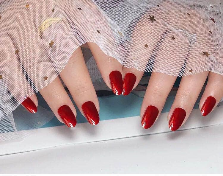 New Best Selling Wearable Nail Polish High Brightness High Quality Pearlescent Nail Polish Phototherapy Fake Nail Patch