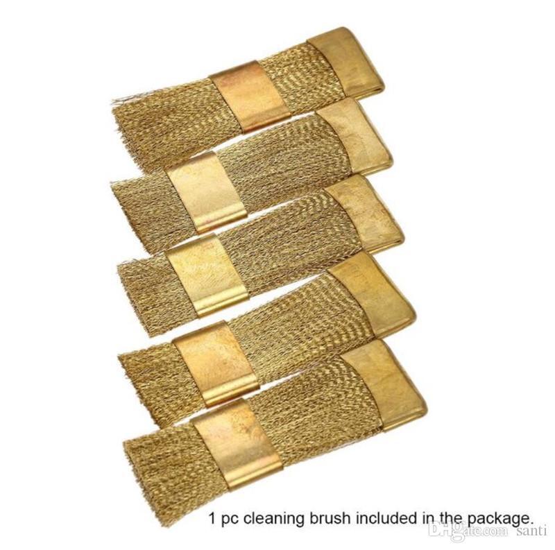 New Health Messing Nail Art Bohrer Reinigungsbürste bewegliche Maniküre-Reinigungsmittel für keramische Nagel Cutter Zubehör Präzisionswerkzeuge