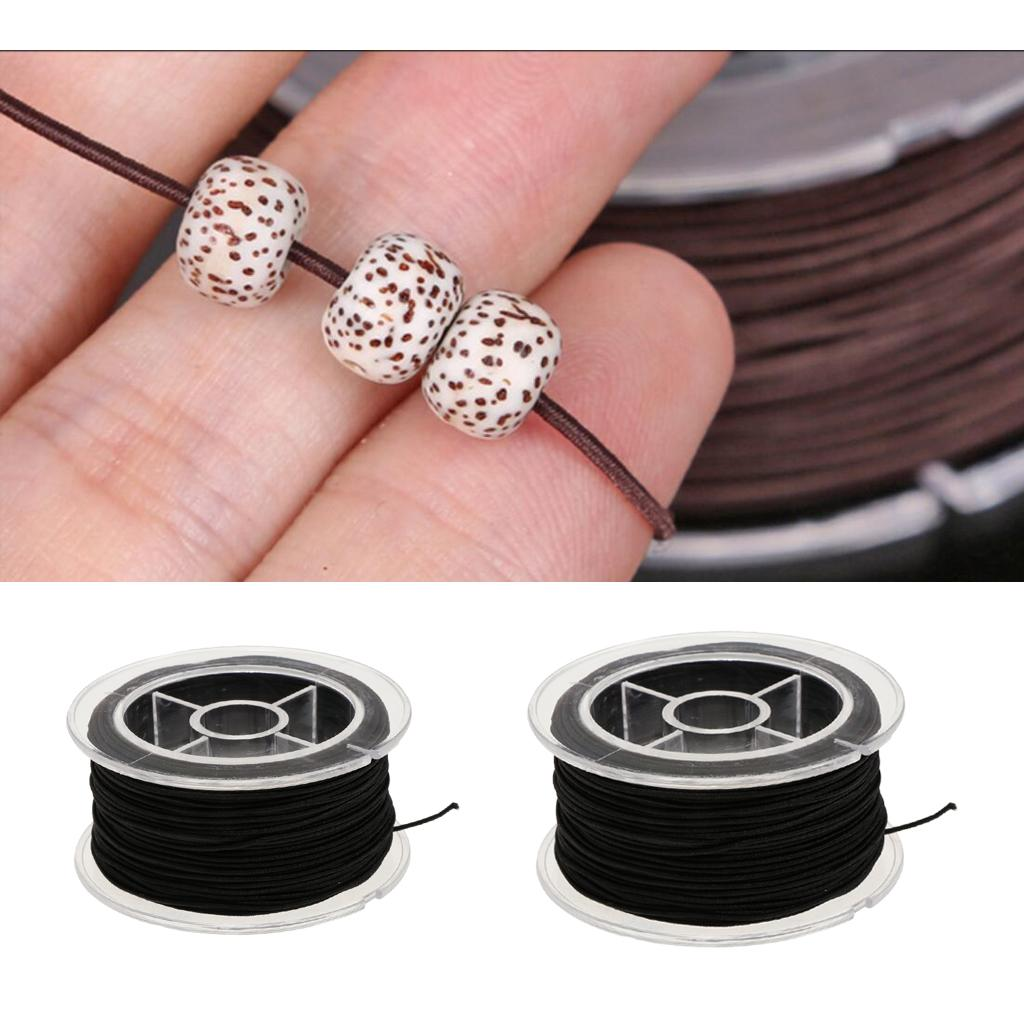 2020 2 Spool Elastic Bead Thread Cord Bracelet Diy From Amleso