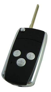 KL118 3 Buttons Metal Frame Replacement Modified Flip Folding Remote Car Key Case For Toyota Camry Corolla Prado RAV4 Hilux Yaris