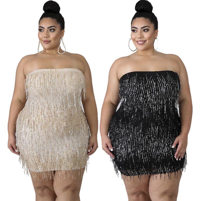 Damen mollige party für mode Große Größen