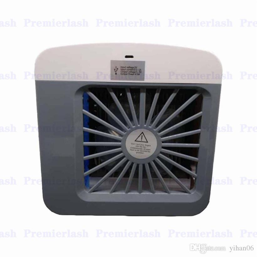 Mini Portátil Purificador de Umidificador de Ar Condicionado 7 Cores Luz Pessoal Ar Arctic Air Cooler Fan Ventilador De Ar Para O Escritório Em Casa carro