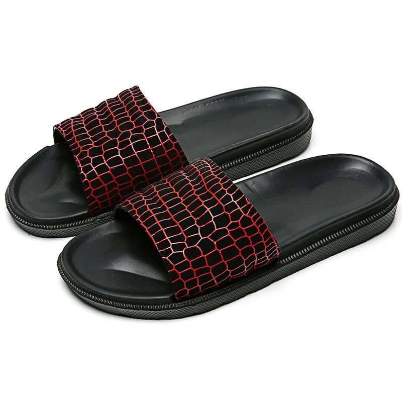 DO Sandals Escala MEN Superfície Verão New Style Eva Ultra-light Sole Casual Sandálias dos homens Casual-coreano estilo retro L05