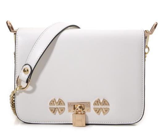 New Fashion Lady Sac Un petit sac carré avec une fermeture estivale, une seule chaîne