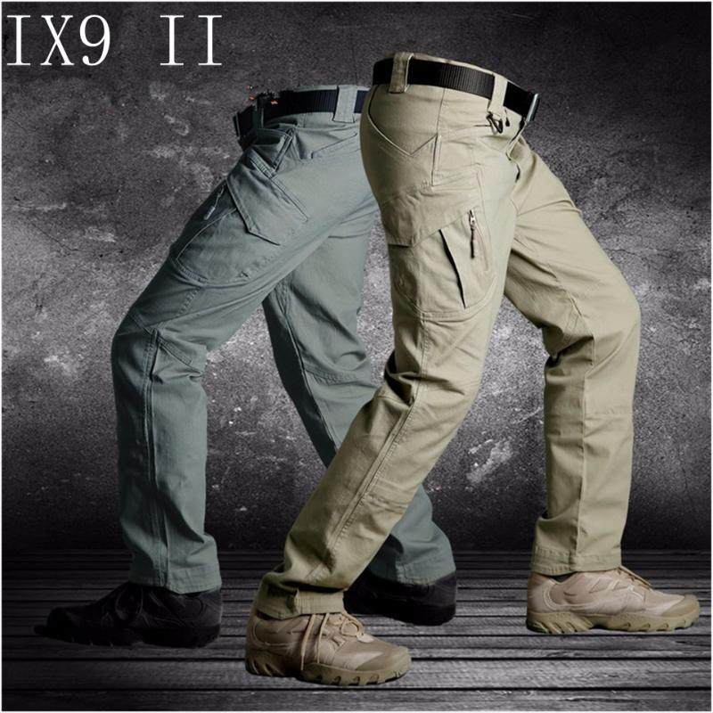 TAD IX9(II) Men Militar Tactical Cargo Outdoor Pants Combat Swat Army Training Pants Sport Trousers for Hiking Hunting