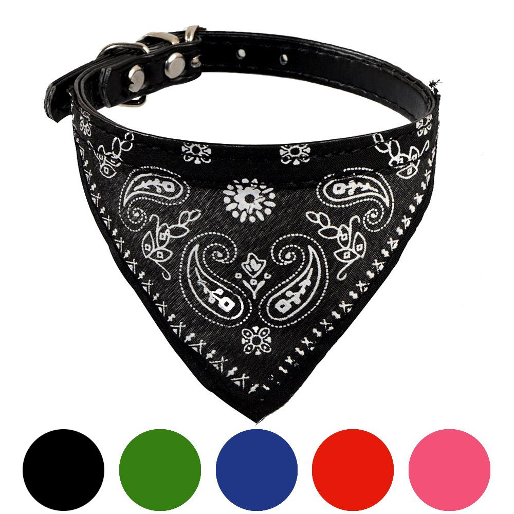 Adjustable Pet Dog Puppy Cat Neck Scarf Bandana Collar Neckerchief Pet Products Dog Supplies Accessories High Quality 2019